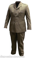 Mens Army Dress Uniform Australian Army Costume Brand Military Mens Uniform