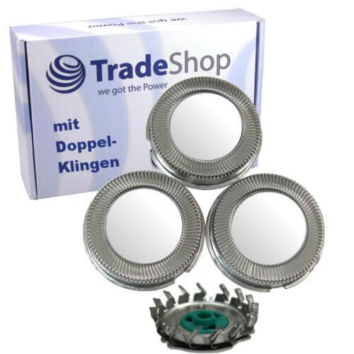 3x Set Scherkopf Messer Klinge für Philips HQ7782 HQ7797 HQ7800 HQ7890 HQ797 HQ8