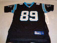 c47d1bbe9 Carolina Panthers Steve Smith  89 NFL Reebok Jersey size Youth Boys Large 14 -16