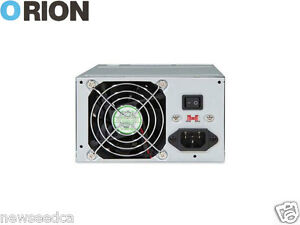 Orion Power Supply - 300W, Dual 80mm Fans, Single +12V Rails HP-500