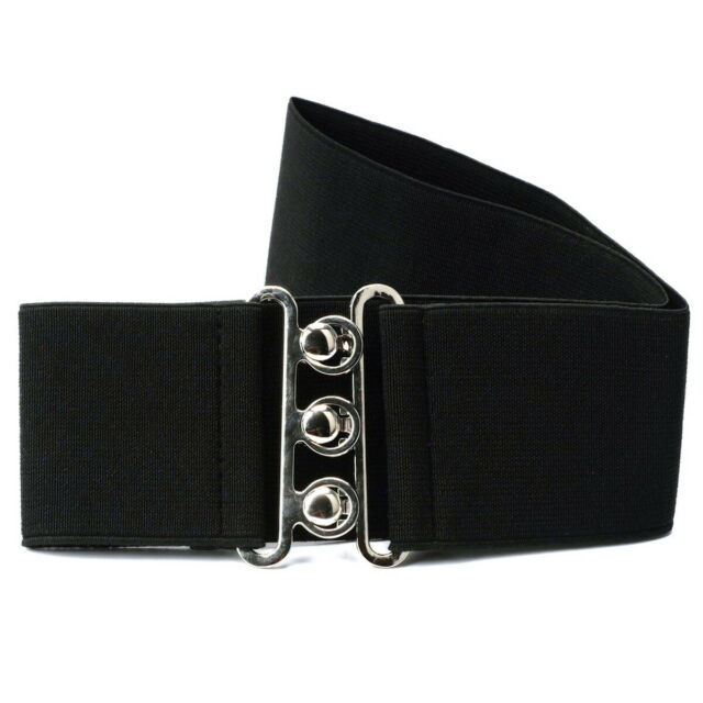 Comparison for 'ezi Fashion Cinch Buckle Women 2 Inch Wide Stretch Elastic Waist Belt Black # 5002310'
