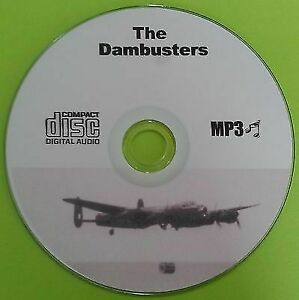 The-Dambusters-WW2-MP3-CD-Old-Time-Radio-Drama-OTR-Over-13-Hours