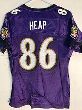 Reebok Women's NFL Jersey Ravens Todd Heap Purple sz S