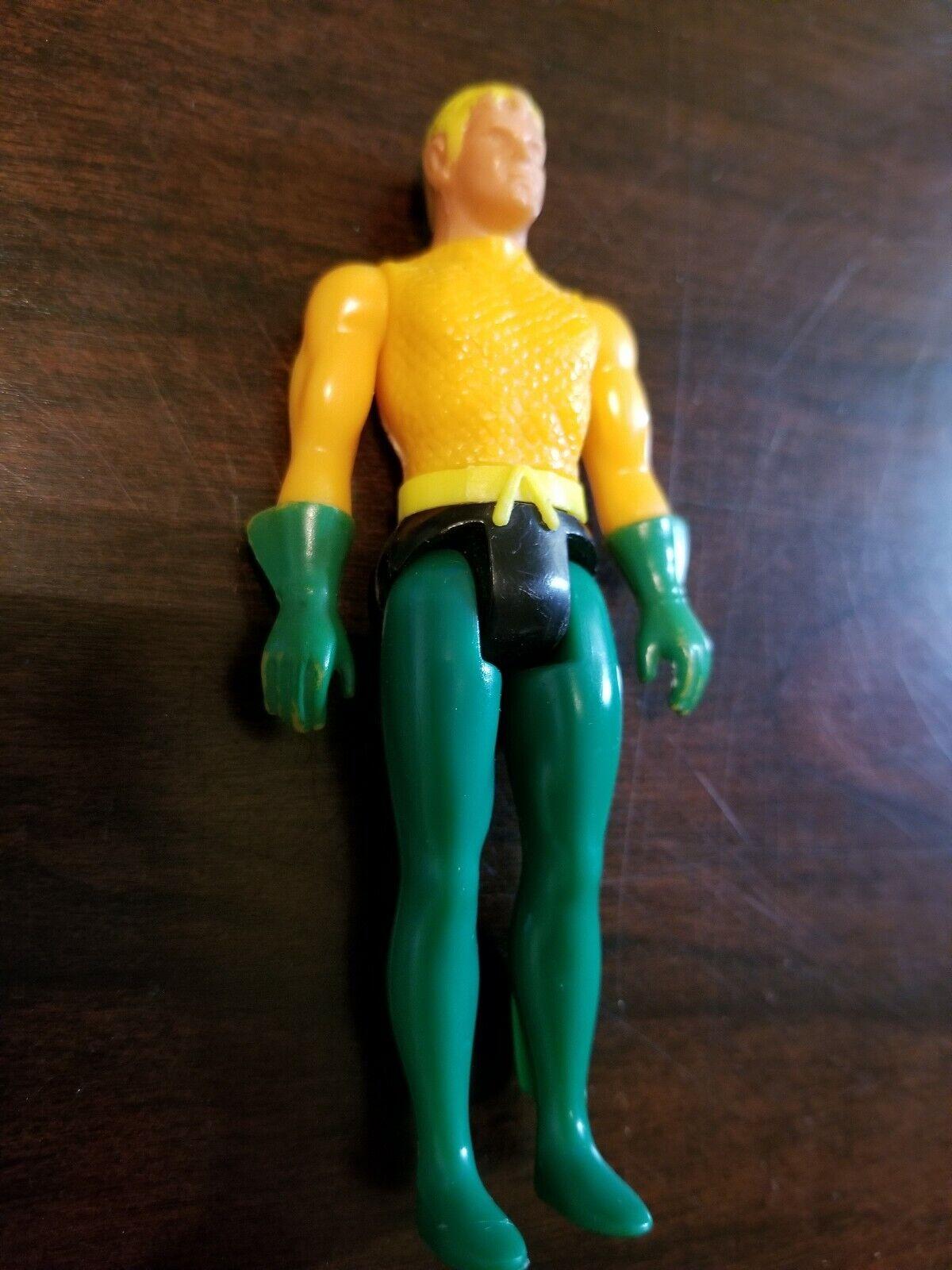 Rara Vintage 1980 Mego Bolsillo súper Heroes Aquaman-DC Comics