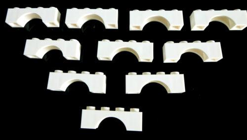10 Stück LEGO 3659 City,Basicstein,Brückensteine  in 1x4 weiss Neuware