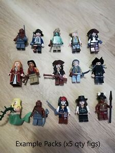 LEGO-Pirates-of-the-Carribean-Minifigures-x5-Figs-per-order-jack-sparrow