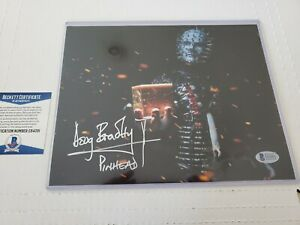 DOUG-BRADLEY-SIGNED-PINHEAD-HELLRAISER-8X10-PHOTO-AUTOGRAPHED-BECKETT-COA-BAS