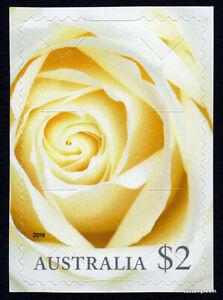 2019-Moments-to-Treasure-2-White-Rose-Self-Adhesive-MUH-Mint-Australia-Stamps