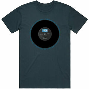 Oasis-039-Live-Forever-Vinyl-039-T-Shirt-Official-Merchandise