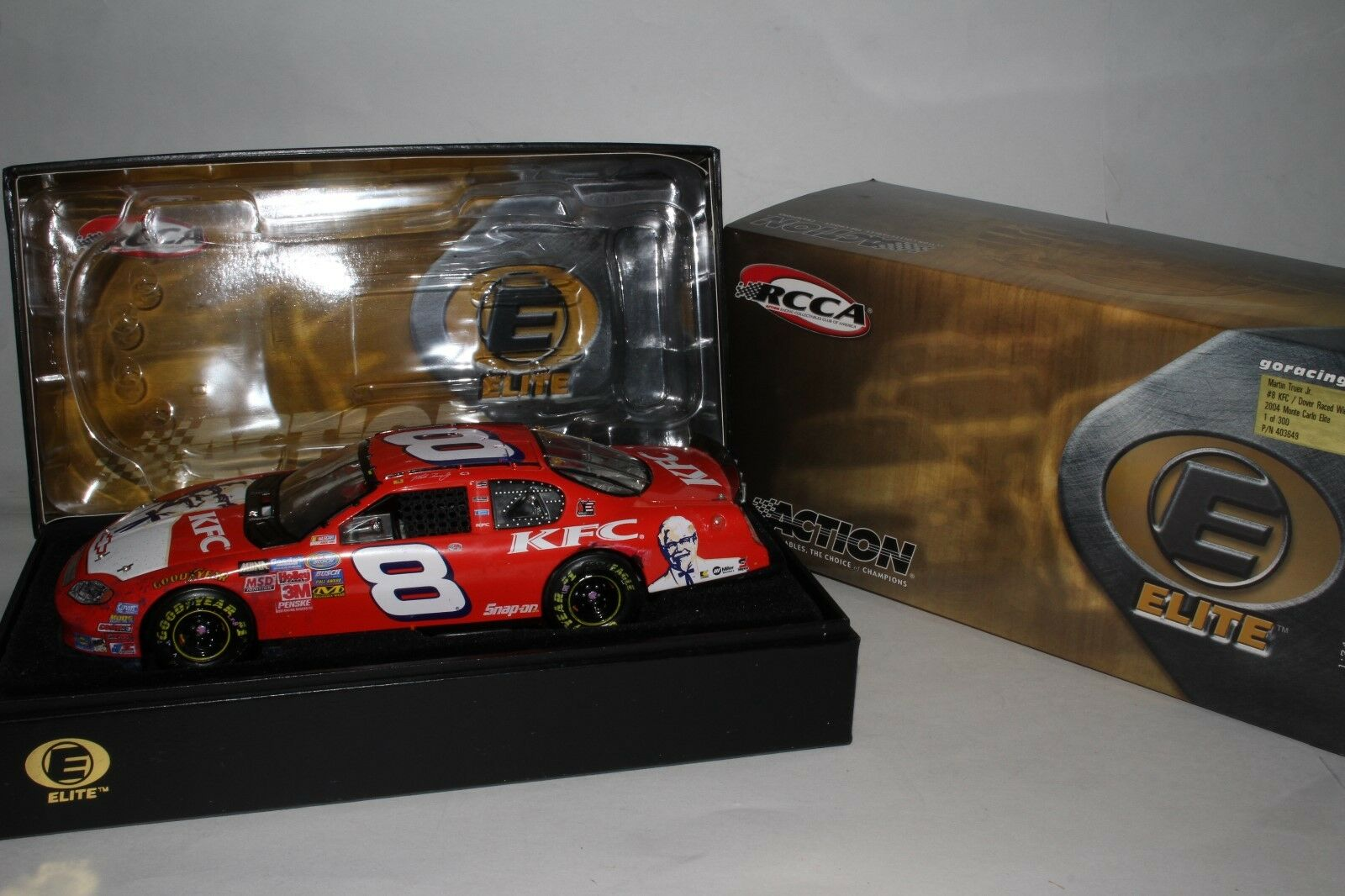 MARTIN TRUEX JR ELITE 2004 MONTE CARLO DOVER RACED WIN VERSION, 1 of 300