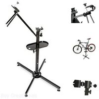 Heavy Duty Portable Bicycle Repair Workstand Cycle Products Pro Mechanic Stand