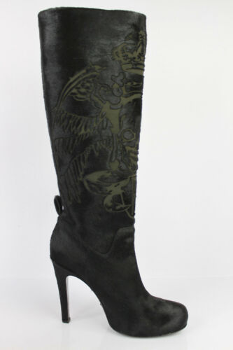 Free Fur Uk 4 Boots Nuovo Foal 37 Hibotskulas Ferley Fr Lance Black 7 rrSwqgO0
