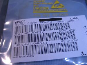 EPCOS-SAW-Filter-B39741-AI10A-A710-SMT-NOS-Qty-10