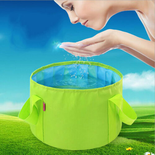 Outdoor Travel Foldable Folding Camping Washbasin Basin Bucket Bowl Washing1 PDO