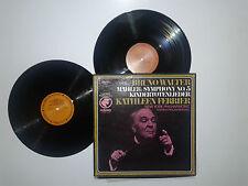 Bruno Walter-Symphony No.5/Kindertotenlieder-Dischi Vinile 33 Giri 2 LP+Box USA