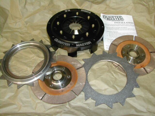 Quartermaster 285062RY 5 5 2 Disc Rally Clutch 1x22 MAZDA Rx7 Miata