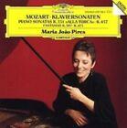 Mozart: Piano Sonatas K.331 & 457; Fantasias K.397 & 475 (CD, Sep-1990, DG Deutsche Grammophon)