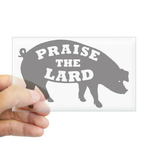 CafePress Praise Lard6 150Trans1 Rectangle Bumper Sticker Car Decal 1092431903