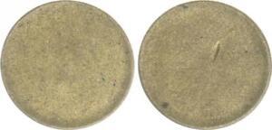 Fehlpraegung-5-Pfennig-Rohling-Messing-J-363-noch-unbepraegt-2-49g-ss-vz