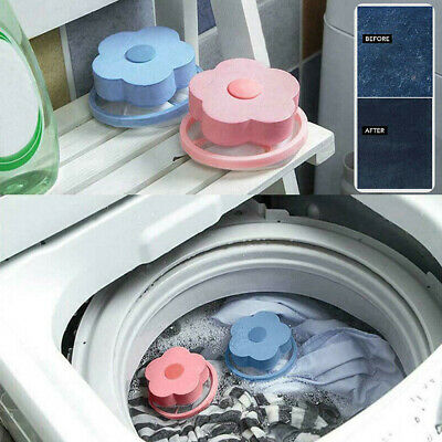 Home Laundry Washing Machine Filter Bag Floating Lint Hair Catcher Mesh Pouch/<