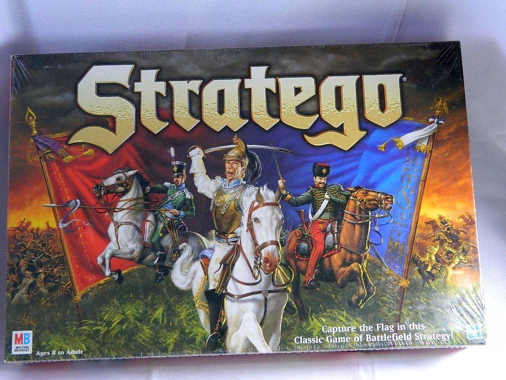 Stratego brettspiel 1999 neu versiegelt klassisches schlachtfeld strategiespiel mb