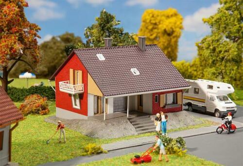 H0 Wohnhaus Mit Terrasse Faller 131355-1//87 Neu