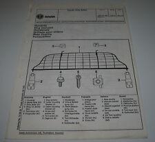 Einbauanleitung Hundenetz Saab 900 ab Modelljahr Dog Restraint 1994!