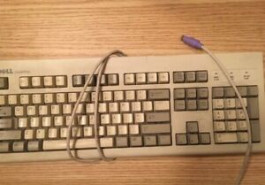 Vintage-Dell-Quietkey-PS-2-Keyboard-Tested-Working