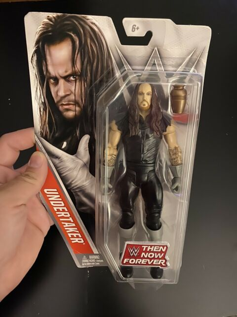 WWE Mattel Then Now Forever The Undertaker Action Figure with Urn NEW