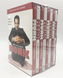 Monk-The-Complete-Series-Season-1-8-DVD-Set-32-Disc-2020-Edition-New-amp-Sealed