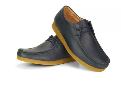 New Mens Casual Formal Leather Lace Up Designer Shoes In UK Sizes 6 7 8 9 10 11