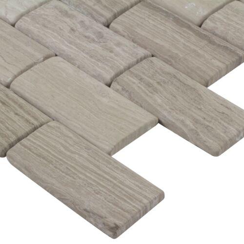 Classic Subway Tan Natural Stone Backsplash Tile Kitchen Bathroom MTO0008