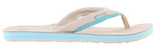 Sand or Coffee Flip Flops Women Retail $37.95 Gravis Slider Sandals Cloud Cream