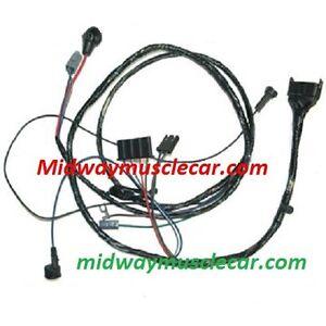 engine wiring harness V8 64 Pontiac GTO LeMans 389 326 manual trans w/o A/C  | eBay | Pontiac Wiring Harness Ebay |  | eBay