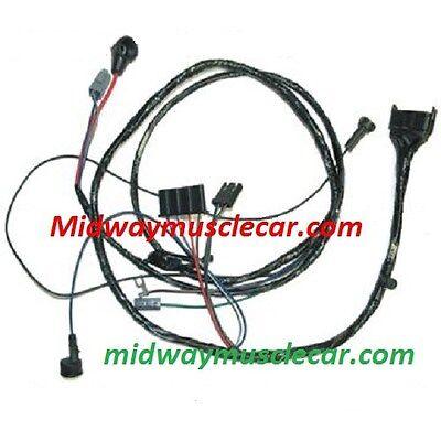 engine wiring harness V8 64 Pontiac GTO LeMans 389 326 manual trans w/o A/C  | eBayeBay