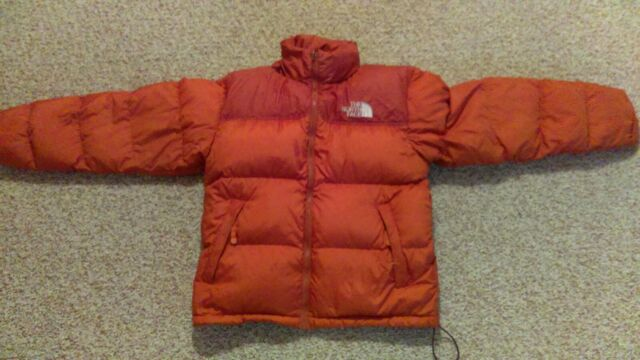 d36d49387e Mens The NORTH FACE Nupste Burnt Orange 700 Down Puffer Jacket size M