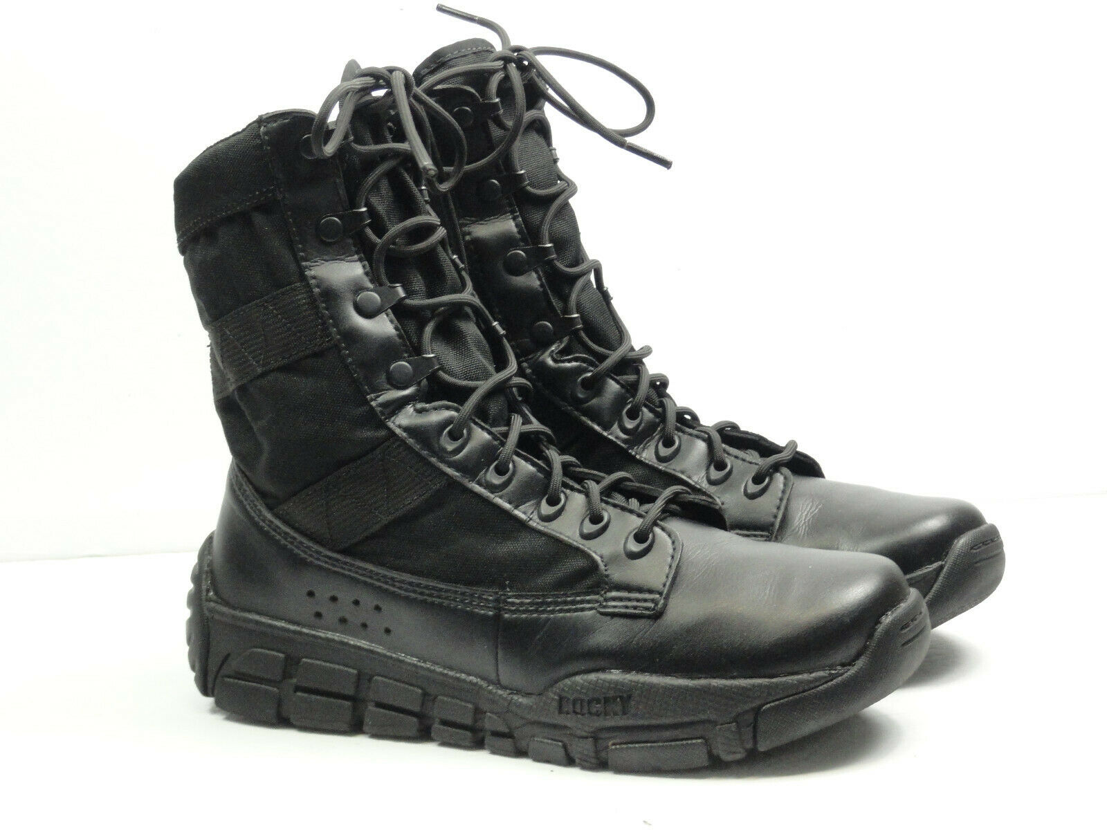 Rocky Herren 8   C4T Militär Inspiriert Duty Stiefel RY008 Schwarz Größe 8W