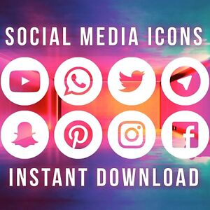 31f93b75ea99 Details about Social Media Icons