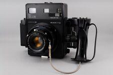 Exc++ Mamiya Super 23 w/Mamiya Sekor 100mm f/3.5 ,Filmback Holder 6x9 from Japan