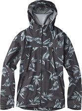 Burton Men's Size S Small Shadow Rain Jacket Hawaiian Print Hooded ...