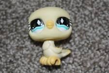 Yellow Pigeon Dove #512 Bird Lps Toy Blue Eyes Fanciest Rare Littlest Pet Shop