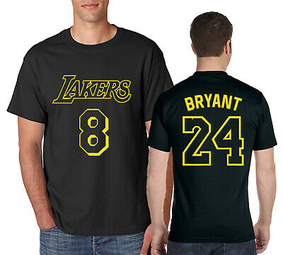 Camiseta de Baloncesto Bryant para Hombre Lakers # 8# 24 Black Mamba Conmemorative Edition Mesh Swingman Jersey Do Not Miss-Black Camiseta sin Mangas con Chaleco Deportivo