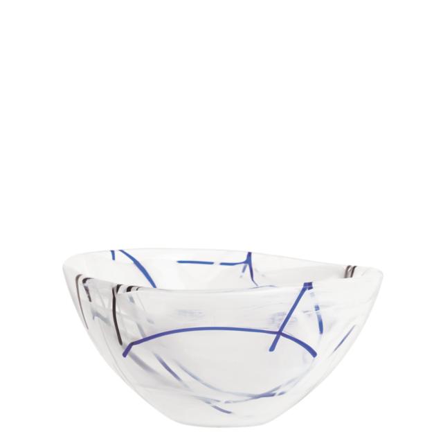 Kosta Boda Contrast Small White Bowl Ebay