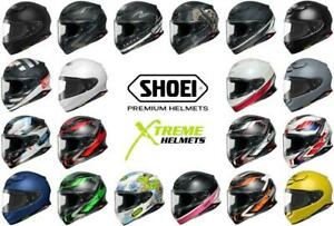 Shoei RF-1400 Helmet Full Face Removable Interior Pinlock Ready DOT SNELL XS-2XL