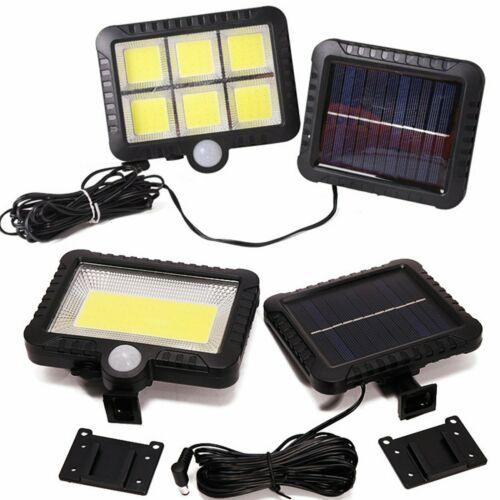 120 LED Solar Power Motion Sensor Light Outdoor Garden Floodlight Security Lamp