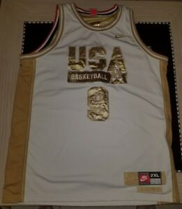 the latest 20445 35ac4 Details about Michael Jordan The Dream Team & USA Olympics Reversible  Jersey XXL RARE Nike 90s