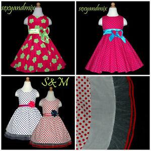 GPU71-74-Purple-Christmas-Party-Wedding-Flower-Girls-Dresses-SIZE-2-3-4-5-6-7-8Y