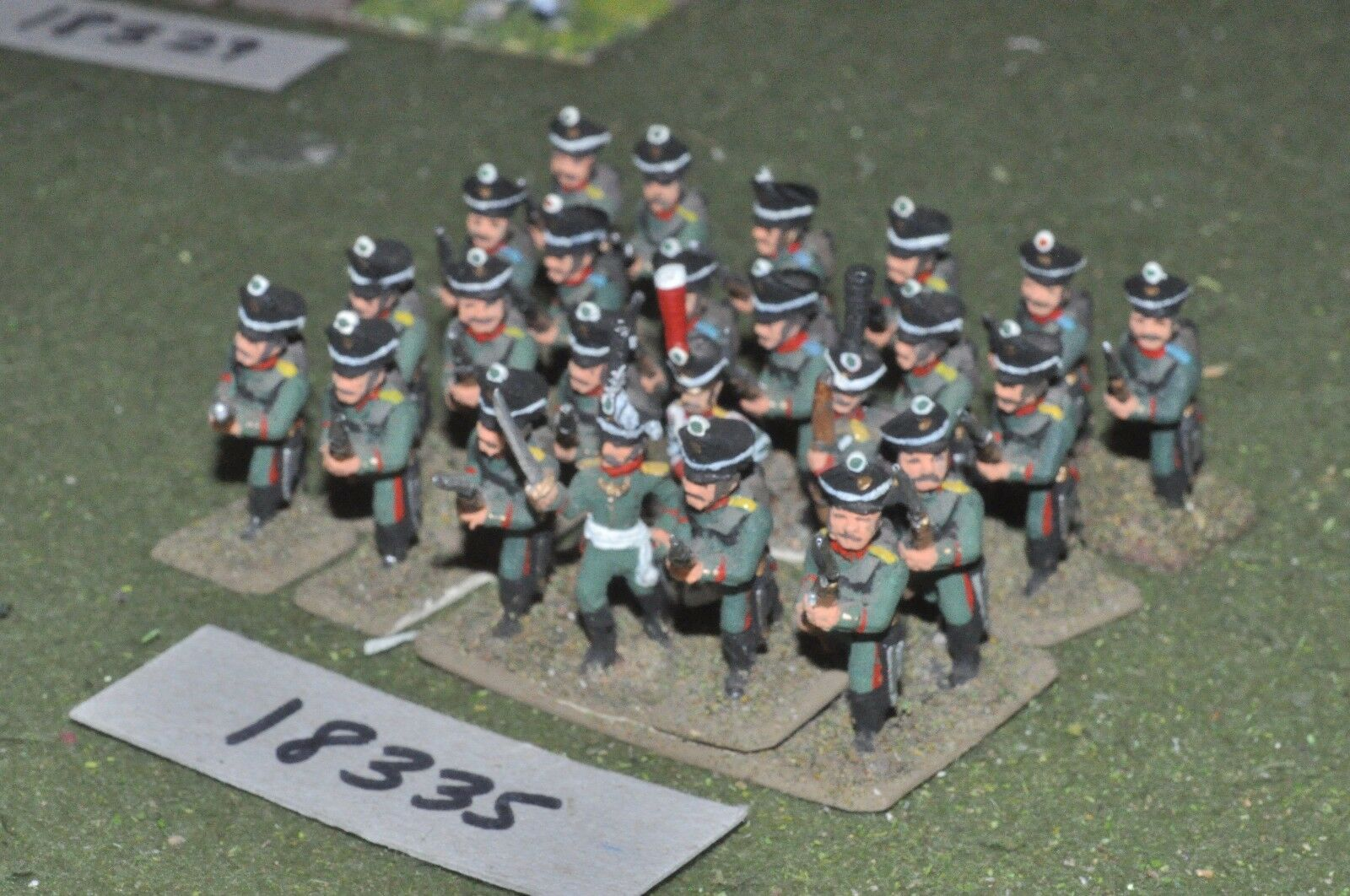 25mm napoleonic   russian - infantry 24 figs - inf (18335)