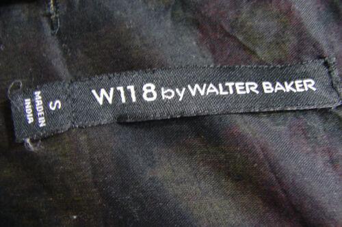 Manche Ourlet Floral Walter Préjugé Coupe Asymétrique Baker Imprimé Sans W118 78txZqBB