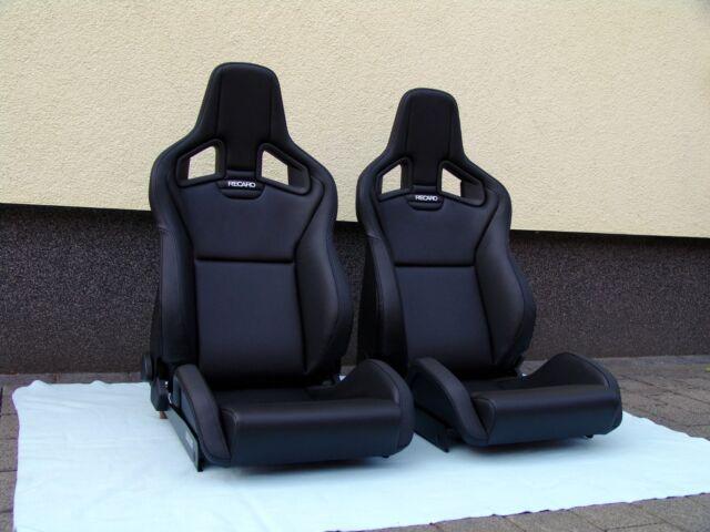 recaro sportster cs seats pair for sale online ebay. Black Bedroom Furniture Sets. Home Design Ideas